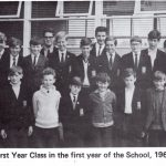 Br Donnelly Mr Gibney (RIP) and the first class in 1967