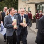 Kevin Reidy (class of 67) and Br Garvey in the entrance procession